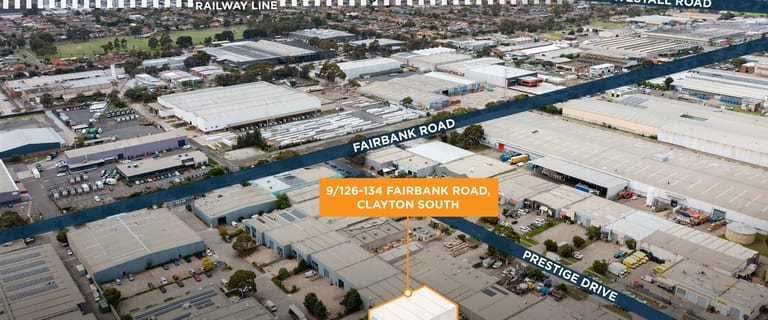 Factory, Warehouse & Industrial commercial property sold at 9/126-134 Fairbank Road Clayton South VIC 3169