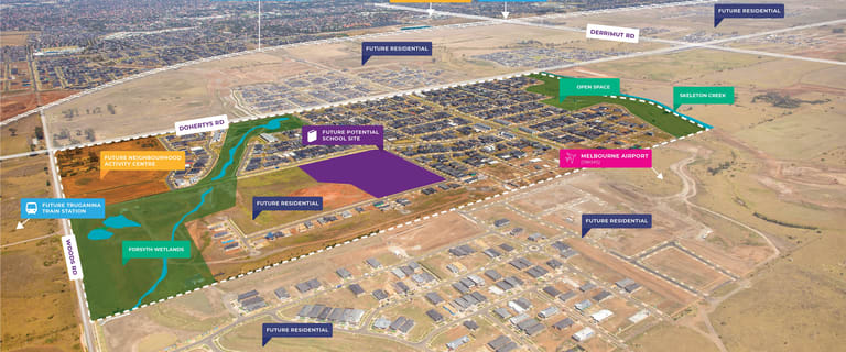 Development / Land commercial property for sale at Corner Everton Road & Hercules Drive Truganina VIC 3029