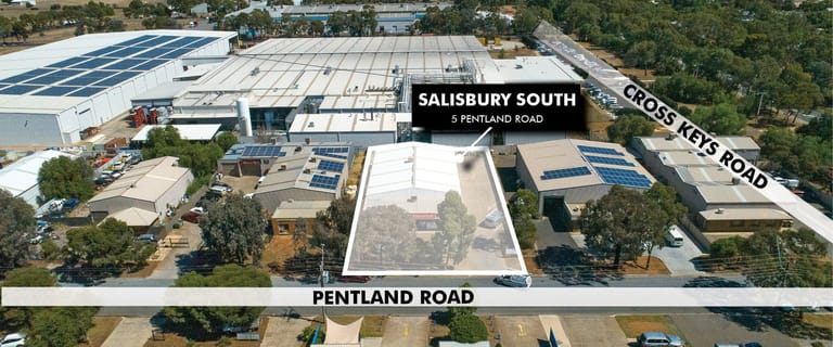 Factory, Warehouse & Industrial commercial property for sale at 5 Pentland Road Salisbury South SA 5106