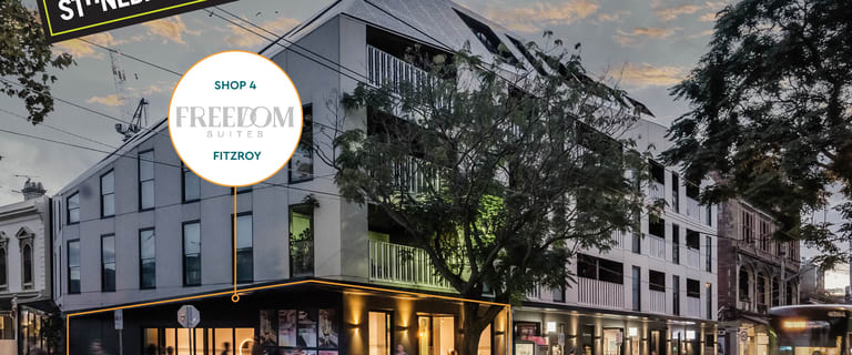 Shop & Retail commercial property for sale at Shop 4, 166 Gertrude Street Fitzroy VIC 3065