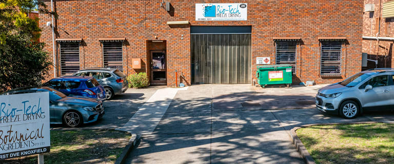 Factory, Warehouse & Industrial commercial property for sale at 26 Parkhurst Drive Knoxfield VIC 3180