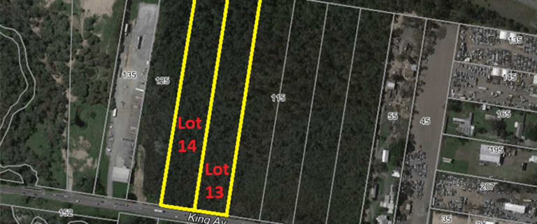 Development / Land commercial property for sale at 105&115 King Avenue Willawong QLD 4110