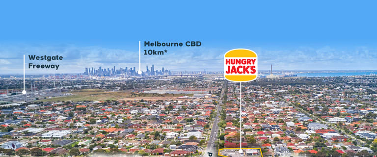 Shop & Retail commercial property for sale at Hungry Jacks/155-159 Millers Road Altona North VIC 3025