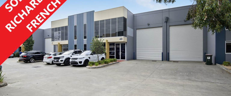 Factory, Warehouse & Industrial commercial property for sale at 48/140-148 Chesterville Road Cheltenham VIC 3192