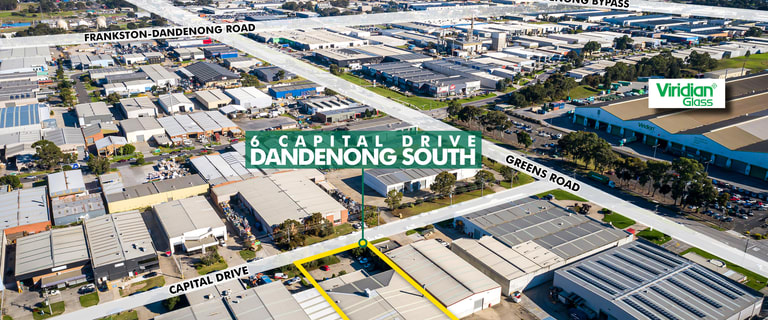 Factory, Warehouse & Industrial commercial property for sale at 6 Capital Drive Dandenong South VIC 3175