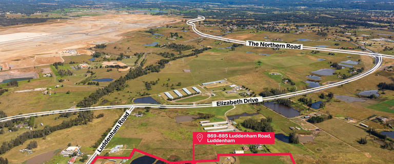 Factory, Warehouse & Industrial commercial property for sale at 869-885 Luddenham Road Luddenham NSW 2745