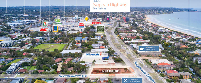 Development / Land commercial property for sale at 345 Nepean Highway Frankston VIC 3199