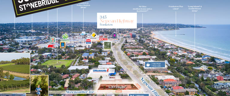 Development / Land commercial property sold at 345 Nepean Highway Frankston VIC 3199