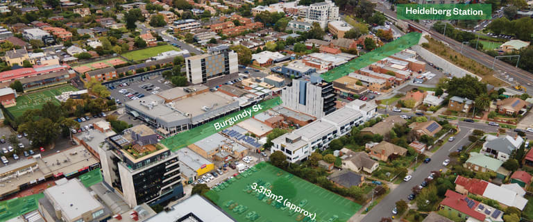 Development / Land commercial property for sale at Heidelberg VIC 3084