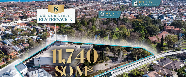 Development / Land commercial property for sale at 8 Gordon Street Elsternwick VIC 3185