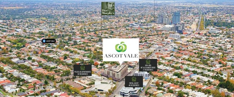 Shop & Retail commercial property for sale at 327 Mt Alexander Road Ascot Vale VIC 3032