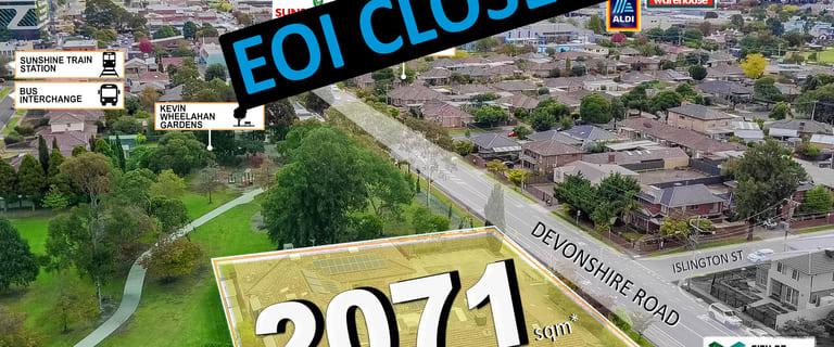 Development / Land commercial property for sale at 74 Devonshire Road Sunshine VIC 3020