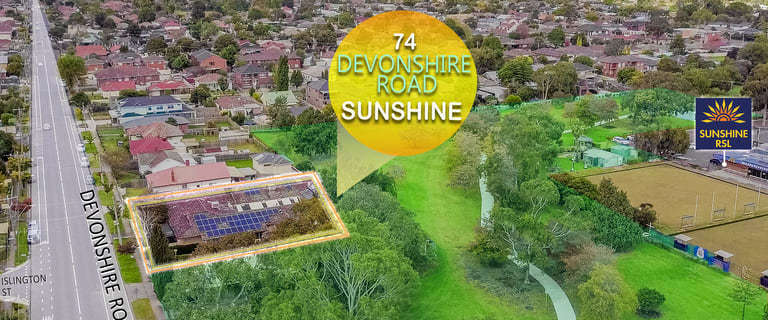 Medical / Consulting commercial property for sale at 74 Devonshire Road Sunshine VIC 3020