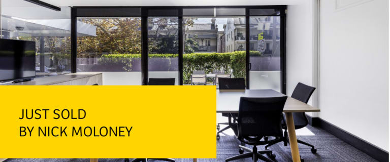 Offices commercial property sold at 1/7 Ridge Street North Sydney NSW 2060