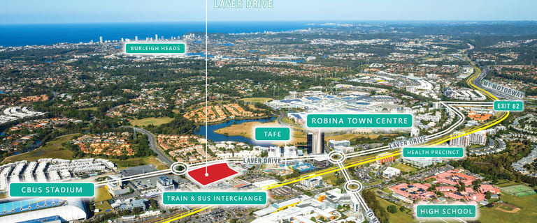 Development / Land commercial property for sale at Lot 105/116 Laver Drive Robina QLD 4226