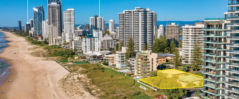 Development / Land commercial property sold at 75-79 Garfield Terrace Surfers Paradise QLD 4217
