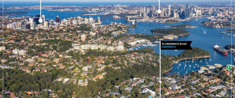 Medical / Consulting commercial property for sale at 95 Greenwich Road Greenwich NSW 2065