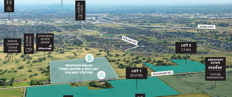 Development / Land commercial property for sale at 195 Boundary Road Wollert VIC 3750
