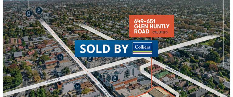 Development / Land commercial property sold at 649-651 Glenhuntly Road Caulfield VIC 3162