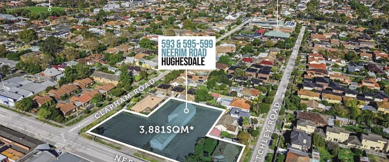 Development / Land commercial property for sale at 593 & 595-599 Neerim Road Hughesdale VIC 3166