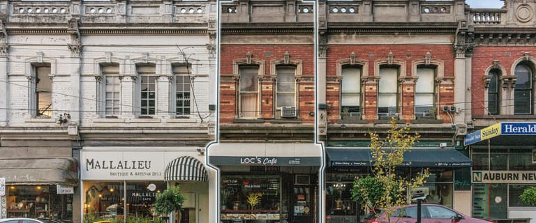 Shop & Retail commercial property for sale at 115 Auburn Road Hawthorn VIC 3122