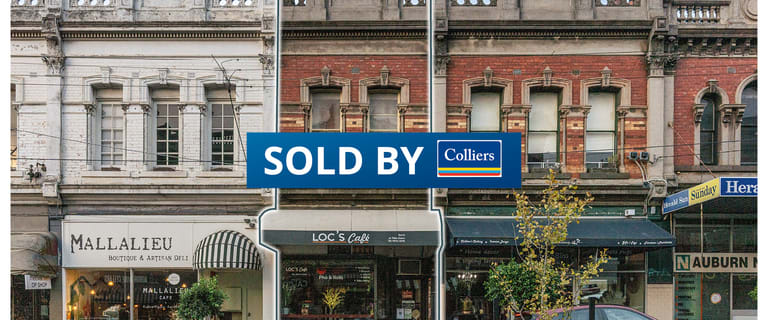 Shop & Retail commercial property sold at 115 Auburn Road Hawthorn VIC 3122