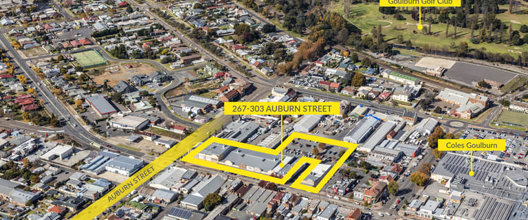 Shop & Retail commercial property sold at 267-303 Auburn Street Goulburn NSW 2580