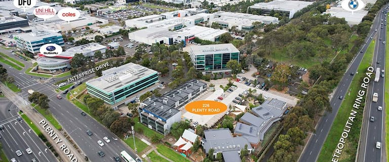 Offices commercial property for lease at 226 Plenty Road Bundoora VIC 3083