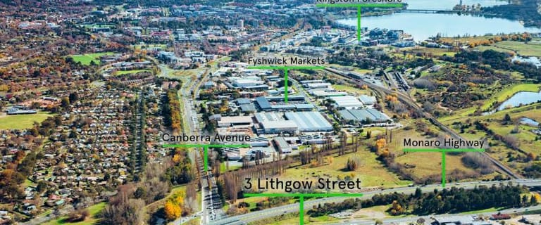 Factory, Warehouse & Industrial commercial property for sale at 3 Lithgow Street Fyshwick ACT 2609