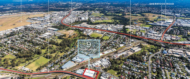 Factory, Warehouse & Industrial commercial property for sale at 9 Railway Terrace Rocklea QLD 4106