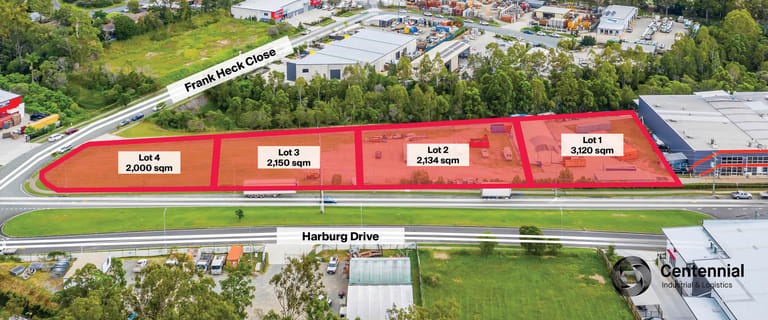 Development / Land commercial property for sale at Lots 1 - 4/70 - 90 Harburg Drive Beenleigh QLD 4207