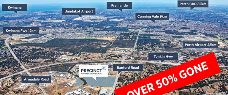 Development / Land commercial property for sale at Lot 57 Turley Street Forrestdale WA 6112