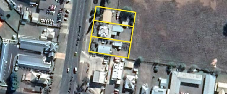 Development / Land commercial property for sale at 66-70 Kingaroy Street Kingaroy QLD 4610