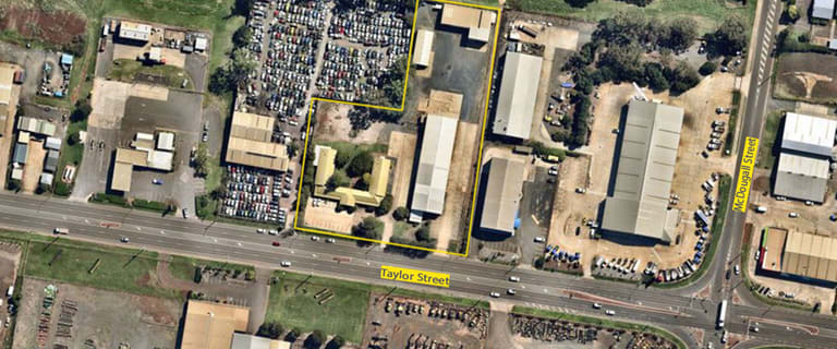 Factory, Warehouse & Industrial commercial property for sale at 367-375 Taylor Street Wilsonton QLD 4350