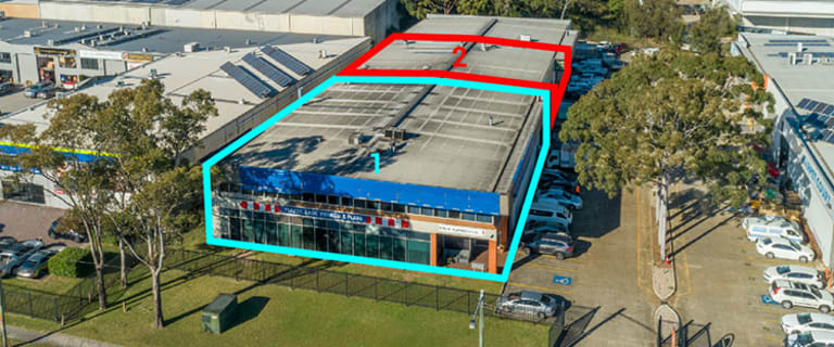 Factory, Warehouse & Industrial commercial property for sale at 1 & 2/189 Woodville Road Villawood NSW 2163