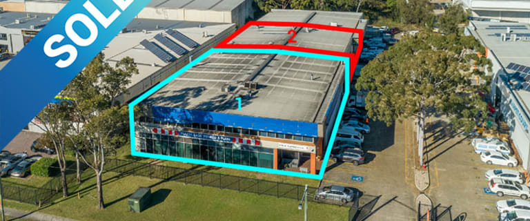 Factory, Warehouse & Industrial commercial property sold at 1 & 2/189 Woodville Road Villawood NSW 2163