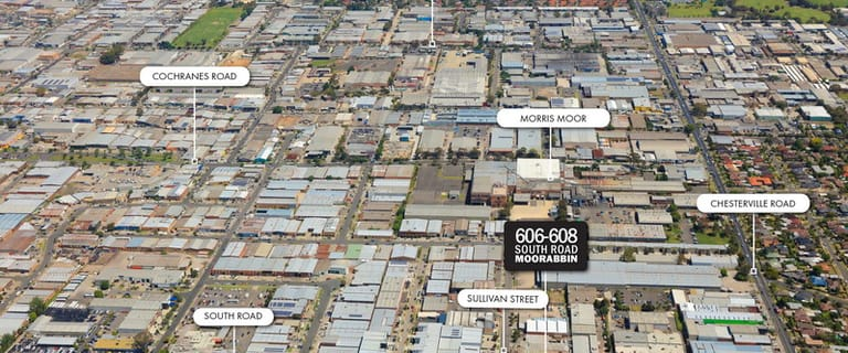 Showrooms / Bulky Goods commercial property sold at 606-608 South Road Moorabbin VIC 3189