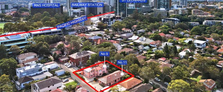 Development / Land commercial property for sale at 9 - 11 Park Road St Leonards NSW 2065