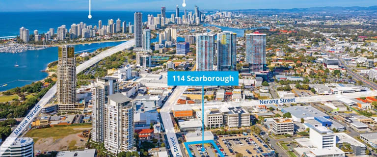 Development / Land commercial property for sale at 114 Scarborough Street Southport QLD 4215