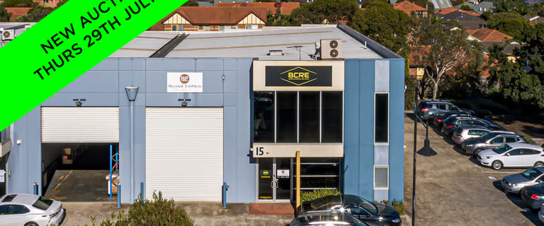 Factory, Warehouse & Industrial commercial property sold at 15/140-148 Chesterville Road Cheltenham VIC 3192