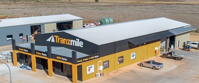 Factory, Warehouse & Industrial commercial property sold at 4 Barron Park Drive Kingaroy QLD 4610