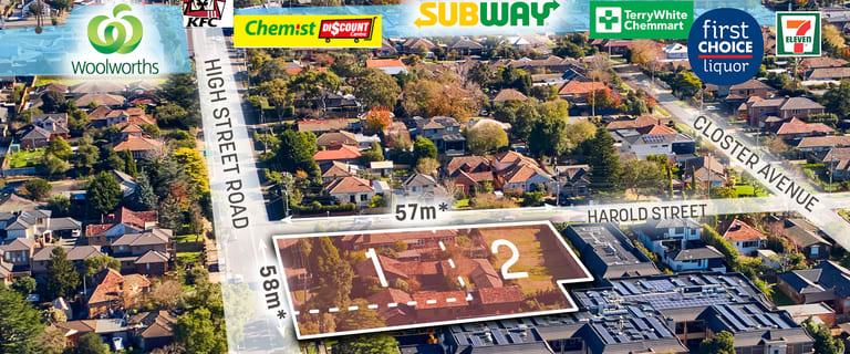 Development / Land commercial property for sale at 10 Harold Street/55-57 High Street Road Ashwood VIC 3147