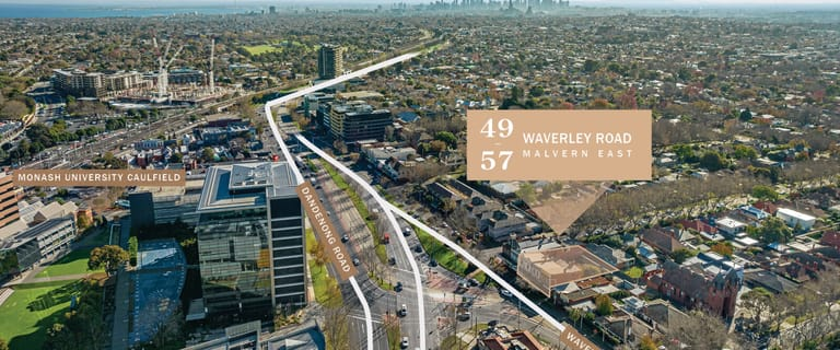 Development / Land commercial property for sale at 49-57 Waverley Road Malvern East VIC 3145