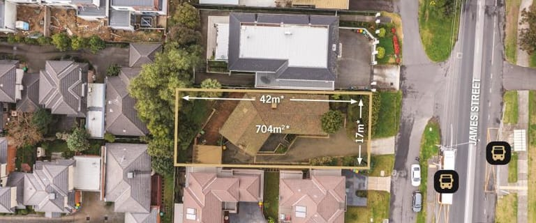 Development / Land commercial property for sale at 93 James Street Templestowe VIC 3106