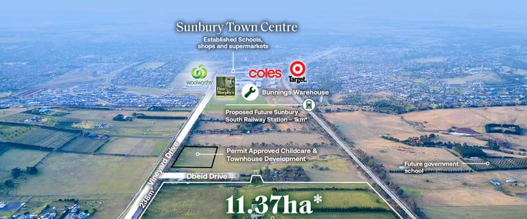 Development / Land commercial property for sale at 195-205 Vineyard Road Sunbury VIC 3429