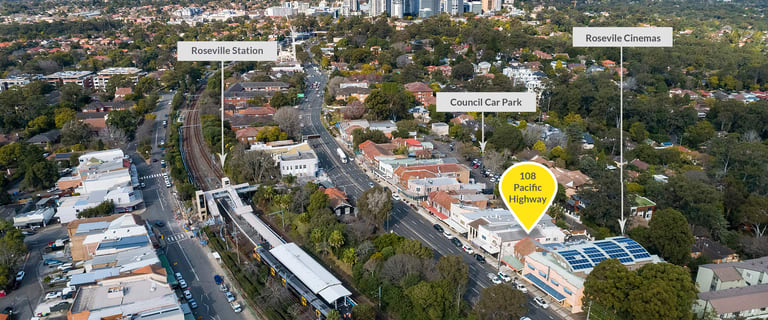 Other commercial property sold at 108 Pacific Highway Roseville NSW 2069