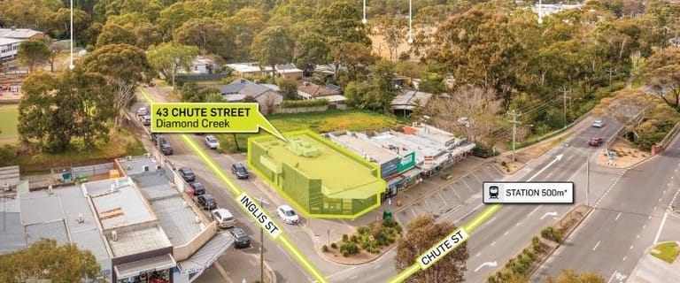 Shop & Retail commercial property for sale at 43 Chute Street Diamond Creek VIC 3089