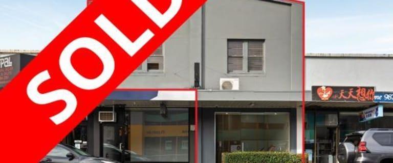 Offices commercial property sold at 13 Blackburn Road Blackburn VIC 3130