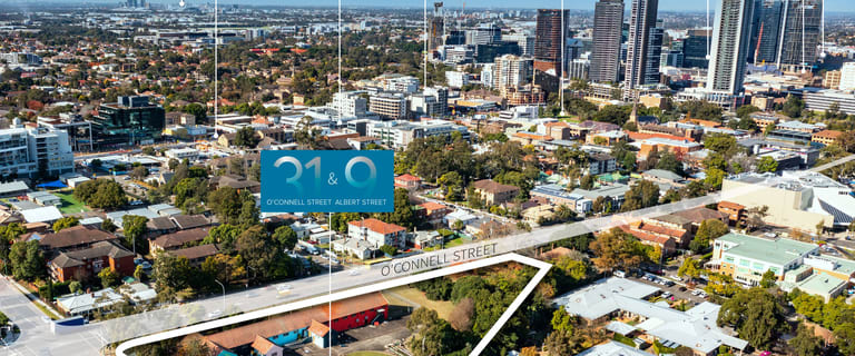 Development / Land commercial property sold at 31 & 9 O'Connell & Albert Streets Parramatta NSW 2150