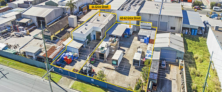 Factory, Warehouse & Industrial commercial property for sale at 60-62 & 64 Grice Street Clontarf QLD 4019